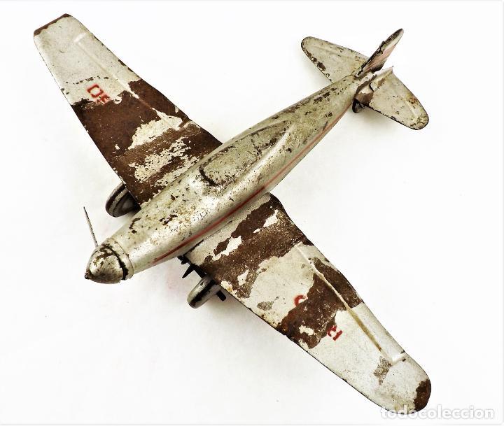Juguetes antiguos Rico: Rico avión original Cca.1940 - Foto 2 - 237716860