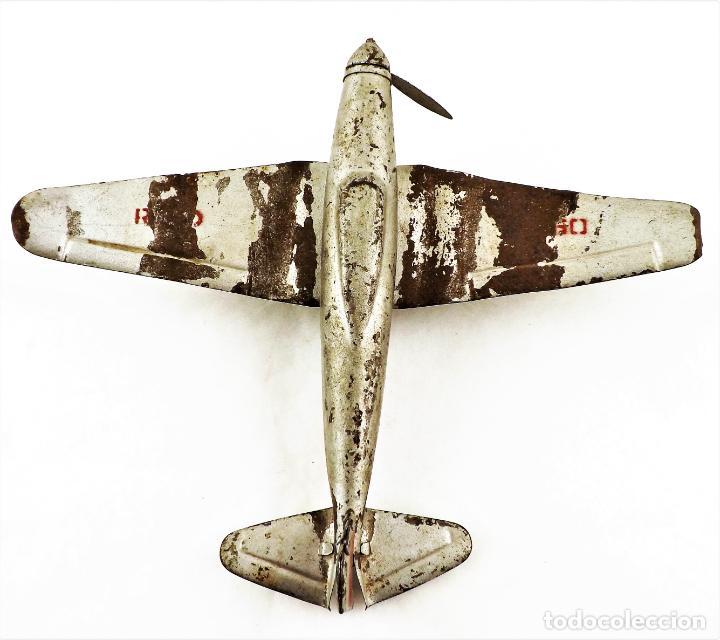 Juguetes antiguos Rico: Rico avión original Cca.1940 - Foto 3 - 237716860