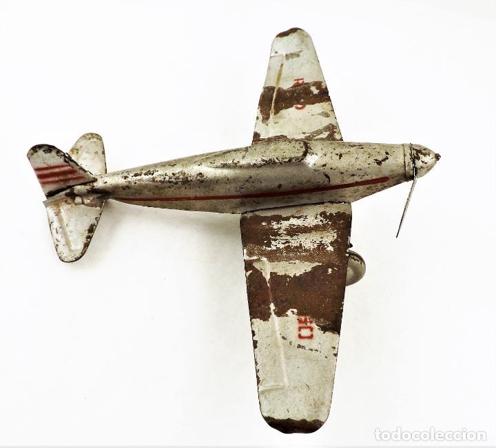 Juguetes antiguos Rico: Rico avión original Cca.1940 - Foto 4 - 237716860