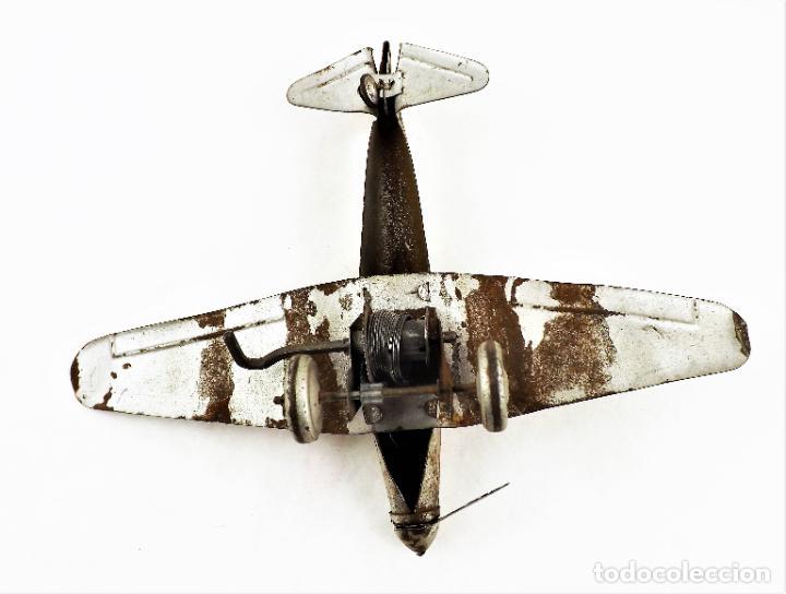 Juguetes antiguos Rico: Rico avión original Cca.1940 - Foto 5 - 237716860