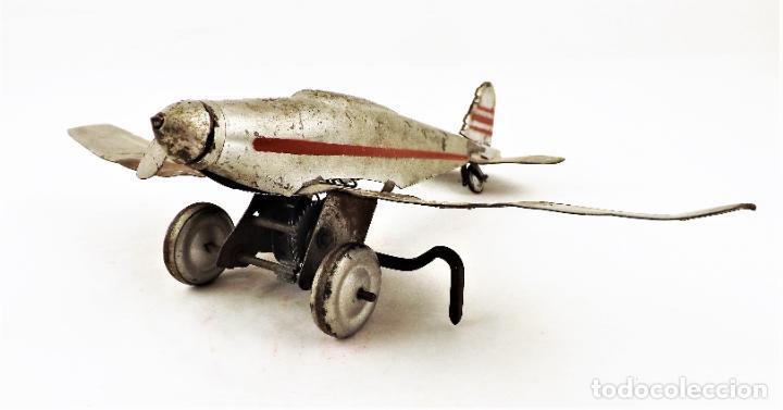 Juguetes antiguos Rico: Rico avión original Cca.1940 - Foto 6 - 237716860