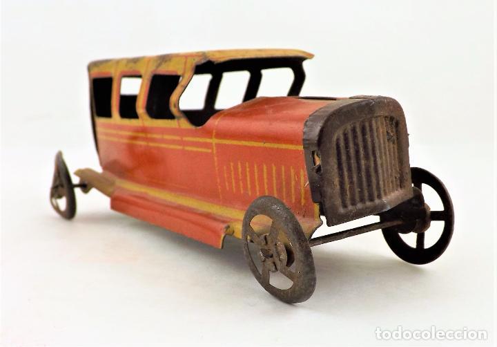 Juguetes antiguos Rico: Rico original. Automóvil antiguo bicolor Cca.1940 - Foto 5 - 237718735