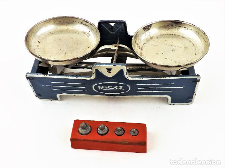 Juguetes antiguos Rico: Rico Balanza de juguete años 50 - Foto 2 - 238445180
