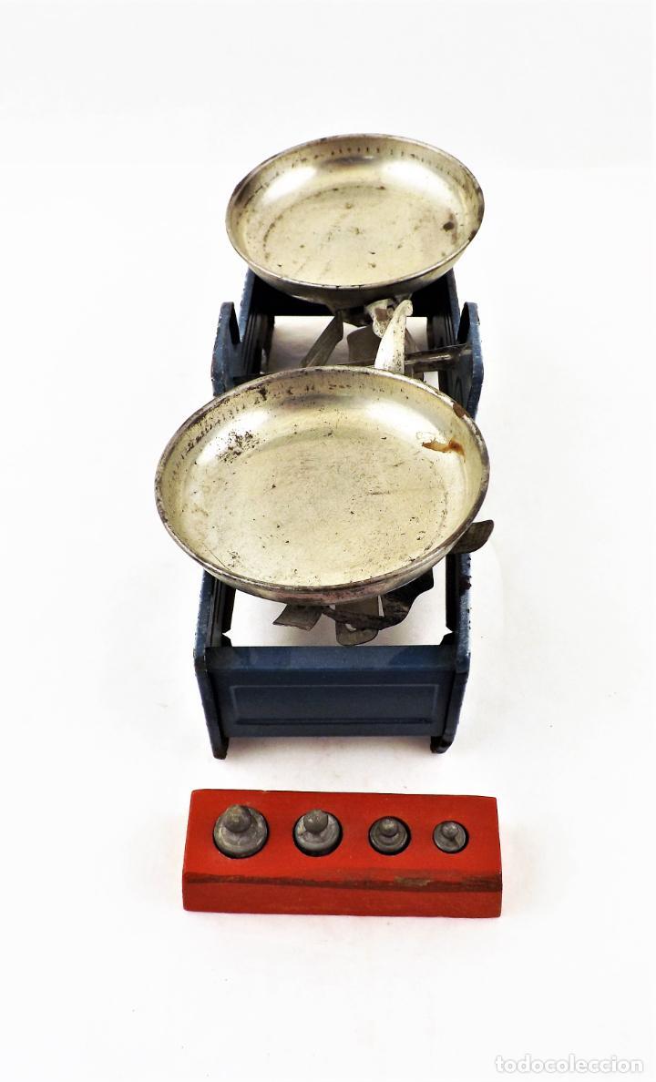 Juguetes antiguos Rico: Rico Balanza de juguete años 50 - Foto 4 - 238445180