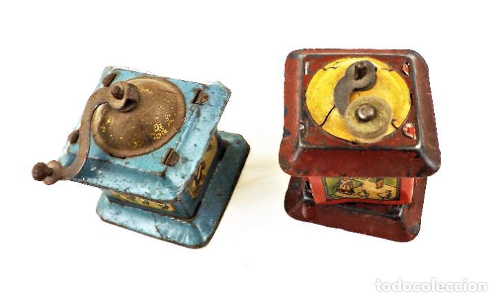 Juguetes antiguos Rico: Rico molinillos de hojalata años 30 (a restaurar) - Foto 2 - 238446055