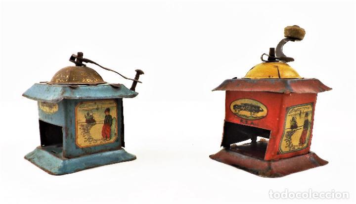 Juguetes antiguos Rico: Rico molinillos de hojalata años 30 (a restaurar) - Foto 5 - 238446055