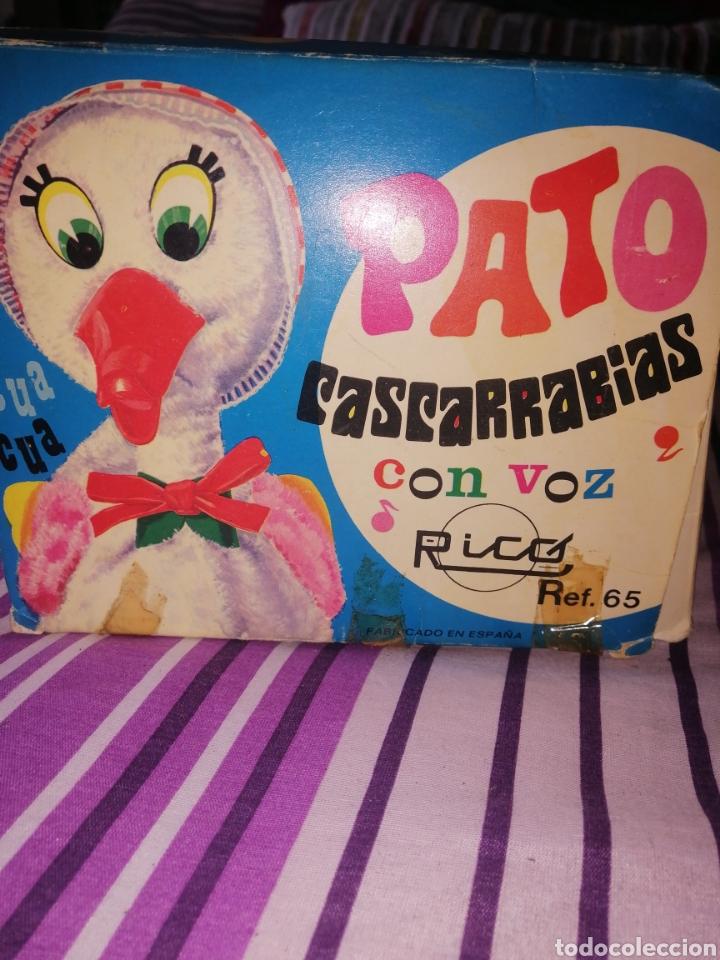 Juguetes antiguos Rico: Pato cascarrabias de rico - Foto 2 - 238773105