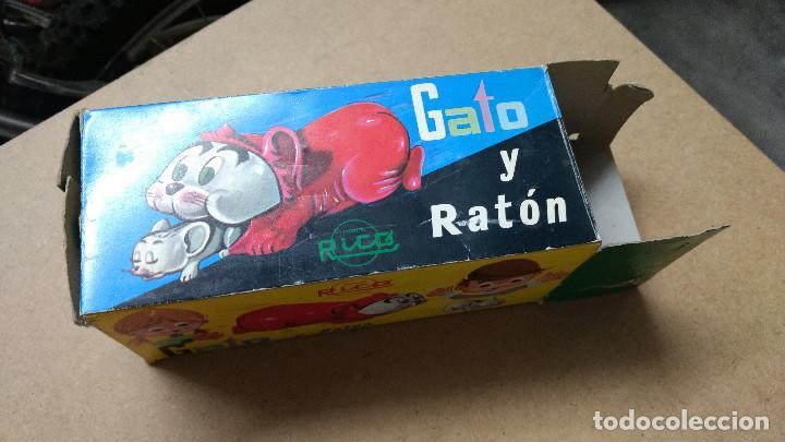Juguetes antiguos Rico: JUGUETE , RICO , GATO Y RATÓN , REF 56 , CON CAJA ORIGINAL . - Foto 6 - 239706485