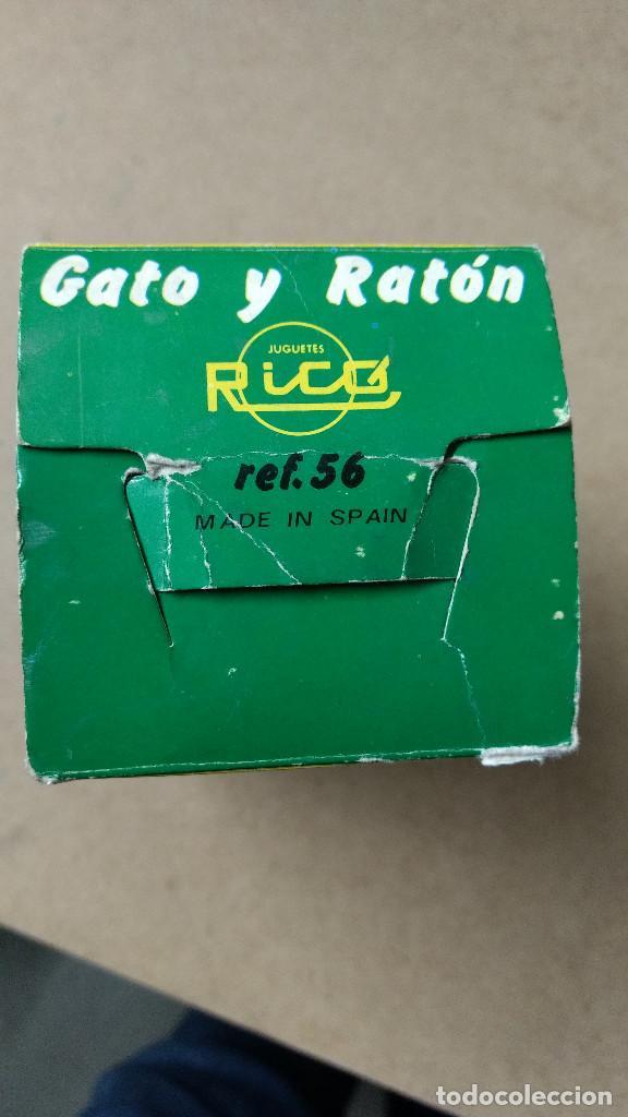 Juguetes antiguos Rico: JUGUETE , RICO , GATO Y RATÓN , REF 56 , CON CAJA ORIGINAL . - Foto 8 - 239706485