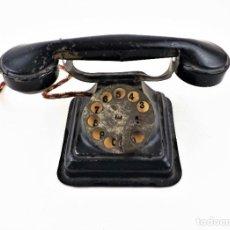 Juguetes antiguos Rico: RICO TELÉFONO AÑOS 30. CHAPA. Lote 239796375