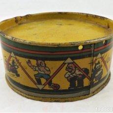 Giocattoli antichi Rico: TAMBOR DE HOJALATA DE RICO AÑOS 40 GATO FÉLIX. Lote 241681850