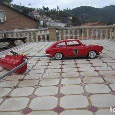 Giocattoli antichi Rico: RICO, SEAT 850 COUPE CONDUCIDO CON CAJA FUNCIONA CORRECTAMENTE TOTALMENTE ORIGINAL.. Lote 241877195