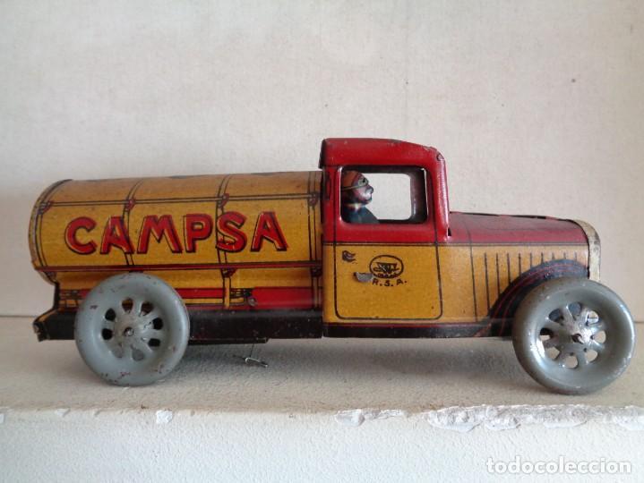 Juguetes antiguos Rico: CAMION CAMPSA RICO CON CONDUCTOR - Foto 3 - 242108240