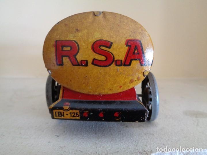 Juguetes antiguos Rico: CAMION CAMPSA RICO CON CONDUCTOR - Foto 7 - 242108240