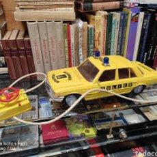 Brinquedos antigos Rico: COCHE MERCEDES DIPLOMÁTICO POLICÍA PATROL RICO AÑOS 70. Lote 244237235