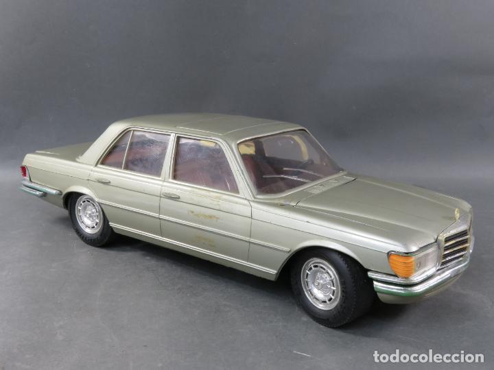 Juguetes antiguos Rico: Mercedes 450 SE Rico Diplomático Eléctrico Conducido cabledirigido años 70 Funciona - Foto 4 - 245232810