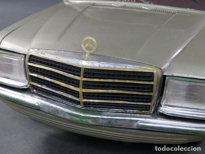 Juguetes antiguos Rico: Mercedes 450 SE Rico Diplomático Eléctrico Conducido cabledirigido años 70 Funciona - Foto 10 - 245232810