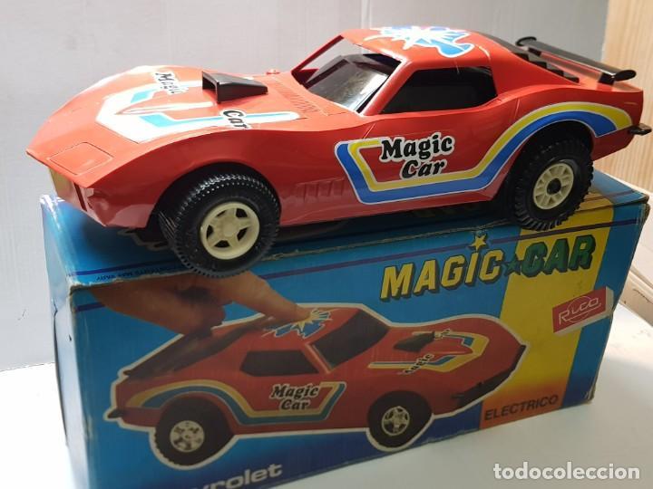 COCHE CHEVROLET MAGIC-CAR ELÉCTRICO DE RICO FUNCIONANDO EN CAJA ORIGINAL (Juguetes - Marcas Clásicas - Rico)