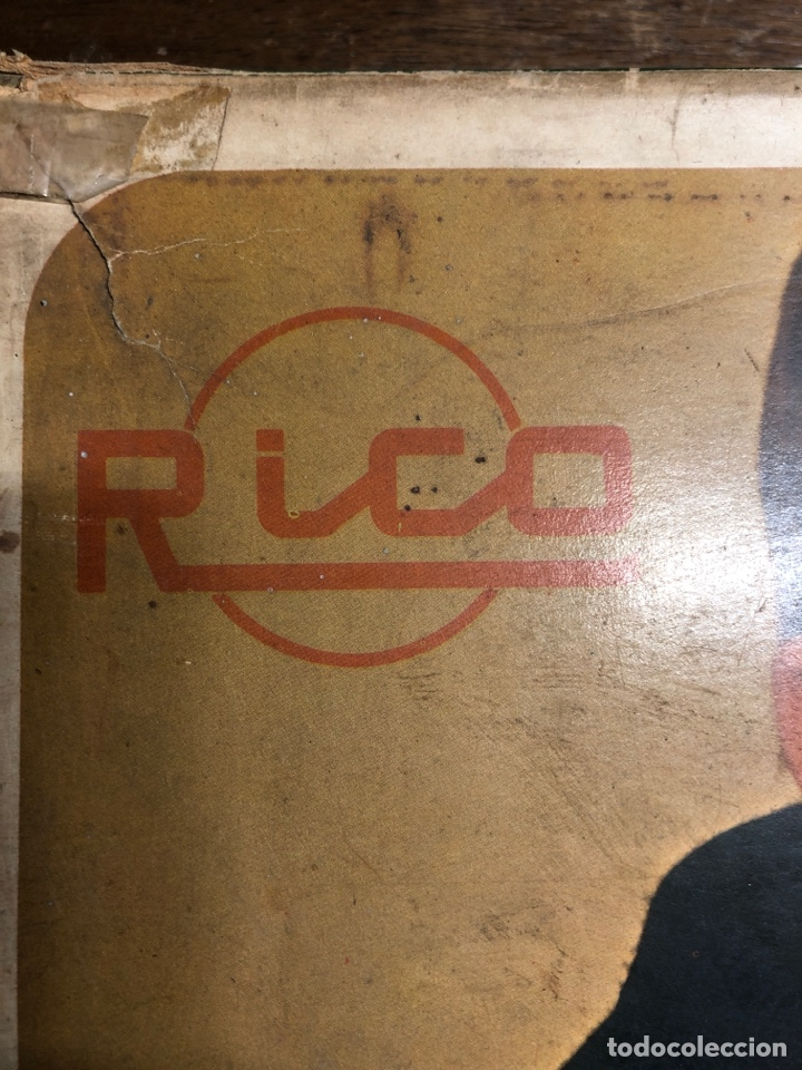 Juguetes antiguos Rico: ANTIGUO JUEGO MAQUETA 2000 DE RICO EN SU VAJA ORIGINAL(tal y como se ve en las fotos) - Foto 11 - 245351180