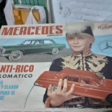Giocattoli antichi Rico: RICO COCHE MERCEDES SANTI RICO EN CAJA. Lote 246910365
