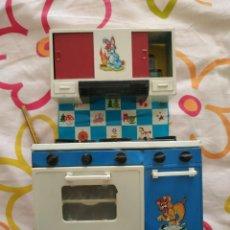 Juguetes antiguos Rico: ANTIGUA COCINA RICO -LATA PLASTICO. Lote 247327115