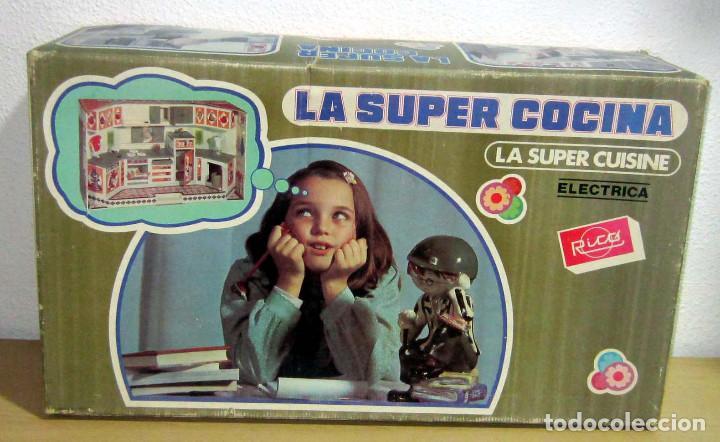 LA SUPER COCINA DE RICO ELECTRIC A, CON SU CAJA Y FUNCIONANDO PERFECTAMENTE REF 159 (Juguetes - Marcas Clásicas - Rico)