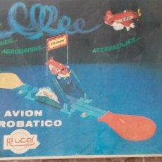 Juguetes antiguos Rico: AVION ACROBATICO DE RICO. Lote 254750795