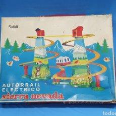 Juguetes antiguos Rico: AUTORRAIL ELÉCTRICO - SIERRA NEVADA - RICO. Lote 256135760