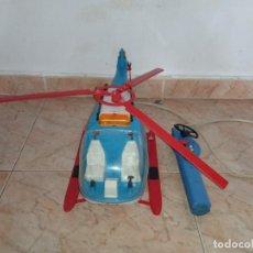 Juguetes antiguos Rico: HELICOPTERO DE RESCATE DE RICO CABLEDIRIGIDO. Lote 258143775