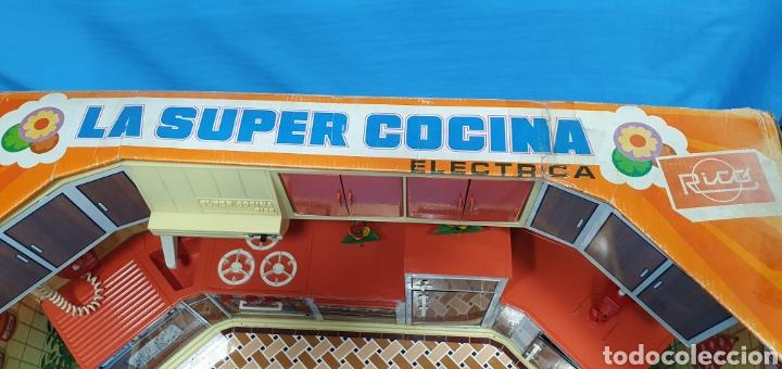 Juguetes antiguos Rico: LA SUPER COCINA ELÉCTRICA - RICO - Foto 12 - 262212570