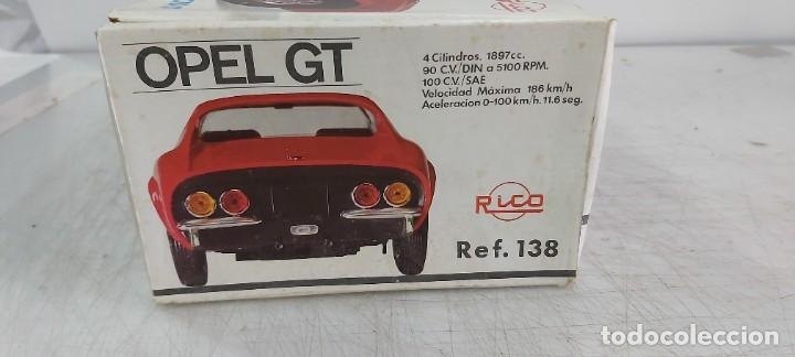 Juguetes antiguos Rico: OPEL GT DE RICO FUNCIONANDO - Foto 6 - 269093473