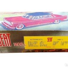 Juguetes antiguos Rico: RICO CAJA SEAT 1400 C ESCALA 1/20 (LEER DESCRIPCIÓN). Lote 269460188