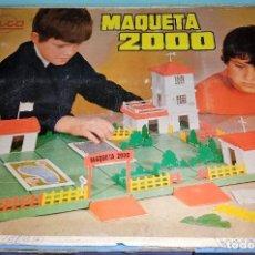 Juguetes antiguos Rico: ANTIGUO JUEGO DE CONSTRUCCION MAQUETA 2000 DE RICO ORIGINAL AÑOS 60. Lote 271924088