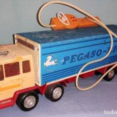 Juguetes antiguos Rico: ANTIGUO CAMION PEGASO TRANSINTER DE RICO. Lote 278873203