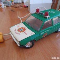 Juguetes antiguos Rico: SEAT FIAT 131 MIRAFIORI DEPARTAMENTO POLICIA CABLE DIRIGIDO RICO MADE IN SPAIN. Lote 280760808