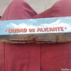 Juguetes antiguos Rico: BARCO CIUDAD DE ALICANTE RICO. Lote 287084098