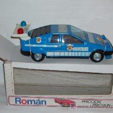 Juguetes antiguos Román: COCHE POLICÍA ROMÁN --SIN ESTRENAR--. Lote 15663678