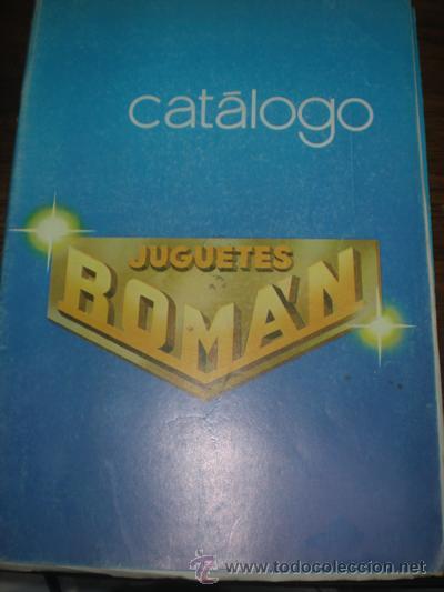 ROMAN CATALOGO 1982 (Juguetes - Marcas Clásicas - Román)