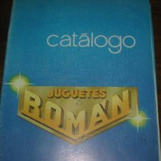 Juguetes antiguos Román: ROMAN CATALOGO 1982. Lote 26530814