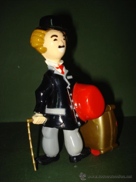 Juguetes antiguos Román: Charles Chaplin CHARLOT. Juguete mecanico de Juguetes ROMAN , IBI . En magnifico estado.Año 1960s. - Foto 6 - 24871970