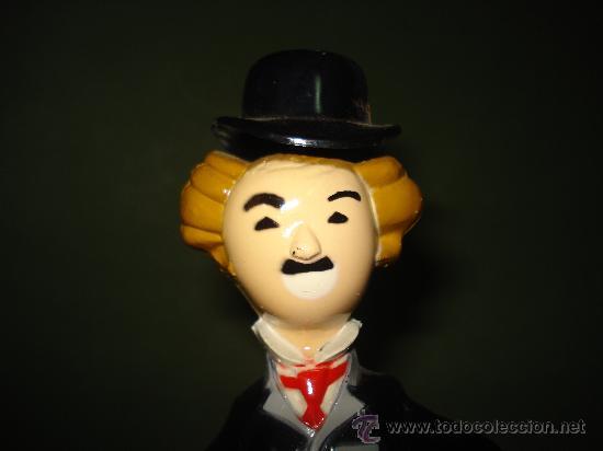 Juguetes antiguos Román: Charles Chaplin CHARLOT. Juguete mecanico de Juguetes ROMAN , IBI . En magnifico estado.Año 1960s. - Foto 2 - 24871970
