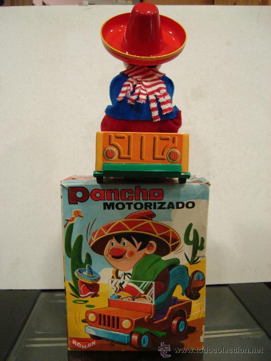 Juguetes antiguos Román: MUÑECO PANCHO MOTORIZADO. JUGUETES ROMAN. SERIE MAGICOS RESORTES. MADE IN SPAIN. - Foto 2 - 60381681
