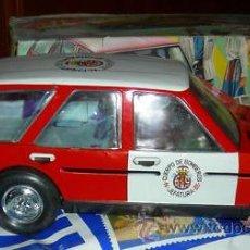 Altes Spielzeug Román - COCHE BOMBEROS A FRICCION ROMAN (CON CAJA ORIGINAL) - 26946270