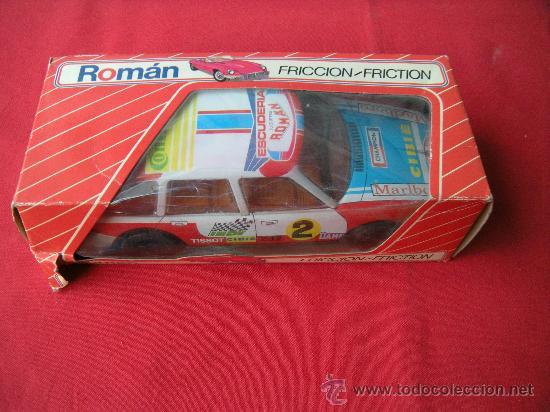 Juguetes antiguos Román: COCHE RALLY DE ROMÁN CON CAJA - Foto 9 - 24927578