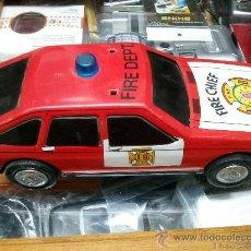 Altes Spielzeug Román - COCHE SALVAOBSTÁCULOS ROMÁN DEL JEFE DE BOMBEROS CHAPA - 28166647