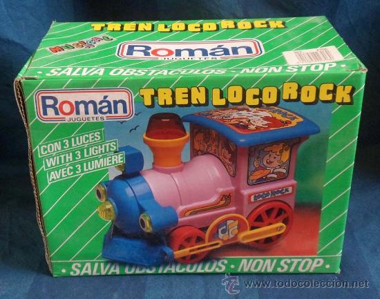 TREN LOCO ROCK DE ROMAN (Juguetes - Marcas Clásicas - Román)