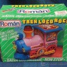 Juguetes antiguos Román: TREN LOCO ROCK DE ROMAN. Lote 28533946
