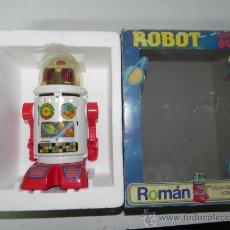 Juguetes antiguos Román: ROBOT ROMAN CON SU CAJA ORIGINAL. Lote 32979076