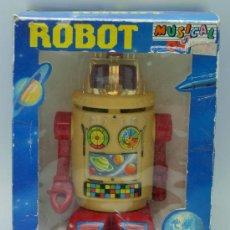 Giocattoli antichi Román: ROBOT DE ROMÁN SALVAOBSTÁCULOS NON STOP CON CAJA AÑOS 80 FUNCIONA. Lote 29681242