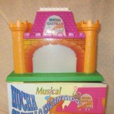 Brinquedos antigos Román: HUCHA CASTILLO ENCANTADO,MUSICAL,DE ROMÁN,CAJA ORIGINAL,FUNCIONANDO,A ESTRENAR. Lote 32127376